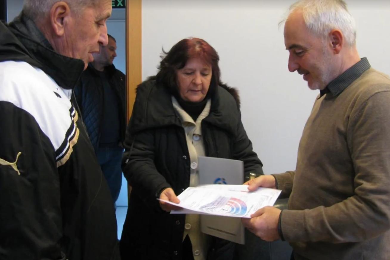 """Дарителска акция на """"Пазари Възраждане"""" ЕАД за  Съюза на слепите в България"""