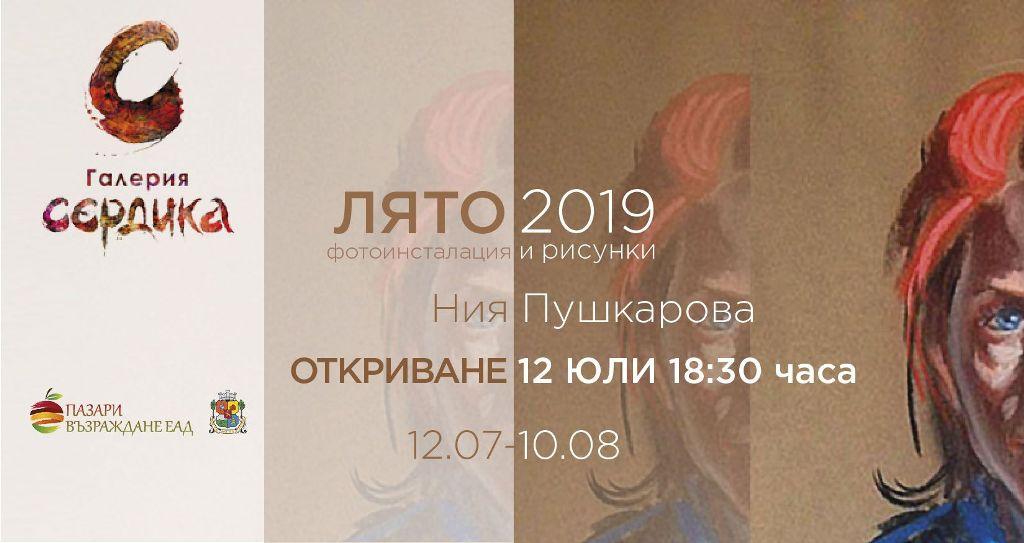 """""""ЛЯТО 2019"""" с автор НИЯ ПУШКАРОВА"""